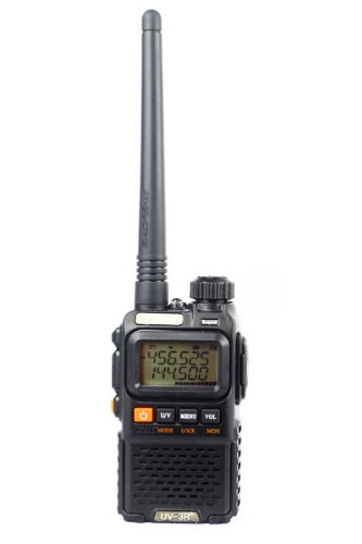 BaoFeng UV-3R PLUS Two Way Radio (Black)