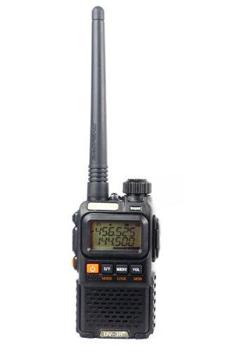 BaoFeng UV-3R PLUS Two Way Radio (Black)