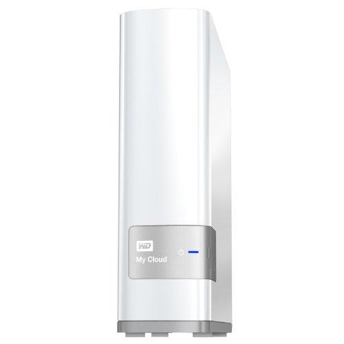 Günstige WD My Cloud Persönlicher Cloud-Speicher 4TB ((8,9 cm (3,5 Zoll), USB 3.0, NAS) weiß