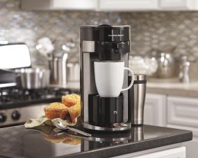 Single Serve Coffee Maker With Large Reservoir : FlexBrew Single-Serve Coffeemaker - 49999