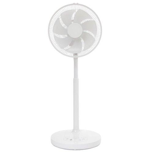 DCモーター扇風機(DCファン)リビング扇風機Dear Calm(リモコン付き)(タイマー付き)EJ-DA008-K