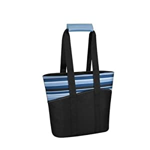 Thermos Raya 18 Can Tote, Blue Striped