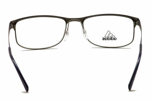 adidas Adidas Eyeglasses AF17 40 6051 Gunmetal/Dark Blue Full Rim Optical Frame 55mm