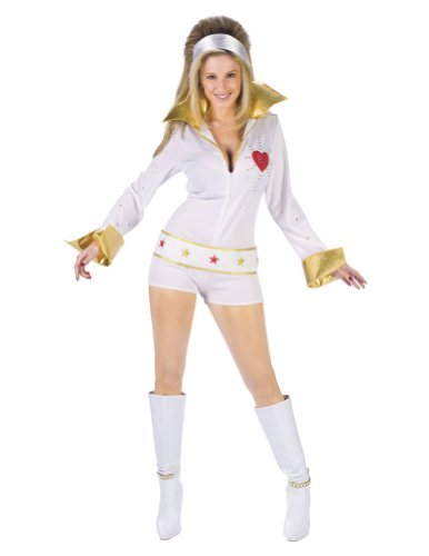 Elvis Female Hot Pant Sm/Md Halloween Costume