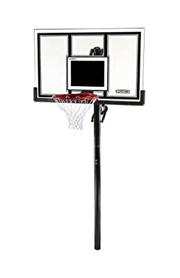 Lifetime 71525 In-Ground Basketball 54 in Shatter Guard Backboard System