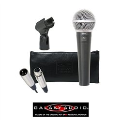Galaxy Audio Rt-66 Dynamic Vocal Microphone, Cardioid Unidirectional