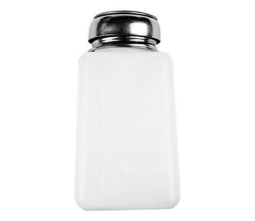 New Empty Pump Dispenser For Nail Art Polish Remover 200ML Bottle (2pcs) sale off 2015