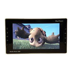Portable Multimedia Player 40GB Drive 7IN Screen Direct Dvr Record