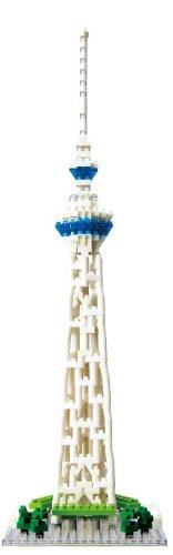 Kawada NBH-022 Tokyo Sky Tree Tower Nanoblock Building Kit