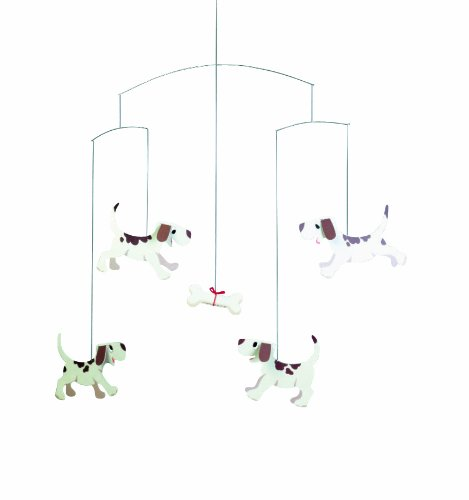 Flensted Mobiles Nursery Mobiles, Doggy Dreams