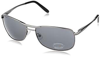Fastrack Semi-Rimless Sunglasses (M032BK2)