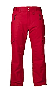 Arctix Men's Insulated Snow Sports Cargo Pant, Large, Vintage Red