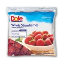Dole Strawberry Bits and Pieces, 5 Pound -- 2 per case. from Dole