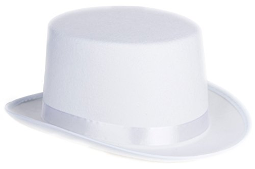 Kangaroo White Felt Top Hat (Factory Sealed) - 1