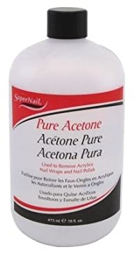 Super Nail 16oz Pure Acetone