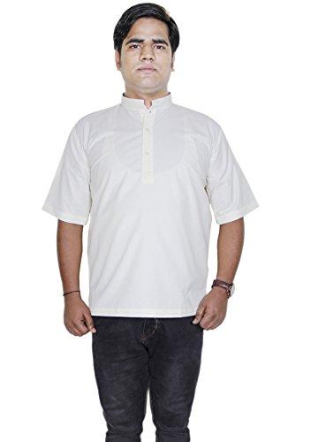 Camicia di moda abbigliamento - uomo manica corta in cotone kurta - Abiti india -size l