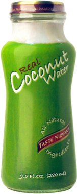 Taste Nirvana Real Coconut Water 9.5oz