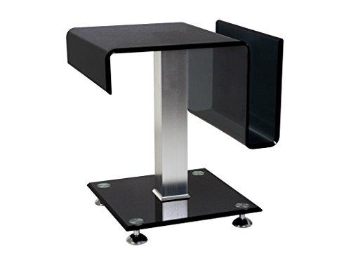 Beistelltisch-Couchtisch-Tisch-Take-Schwarzglas