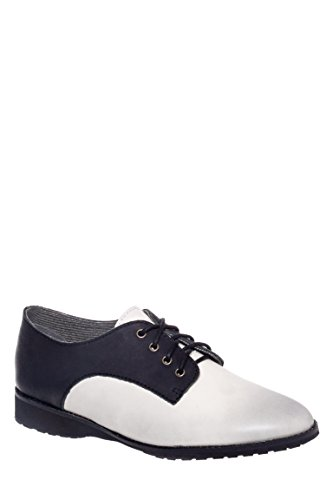 Derby Monochrome Oxford Shoe