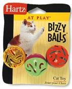 HARTZ MOUNTAIN #32700-82183 Bizzy Balls Cat Toy