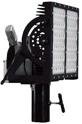 300 Watt Led Pole Top Light Fixture - 120-277Vac - 1000W Metal Halide Equivalent - Slip Fit Yoke (-S