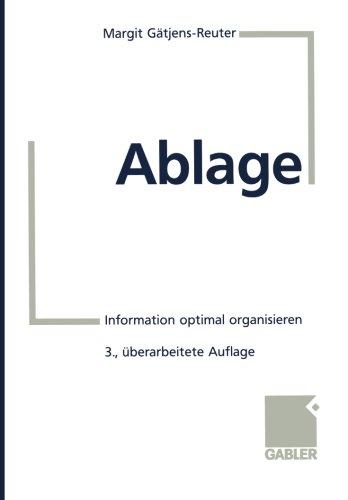 Ablage, Buch