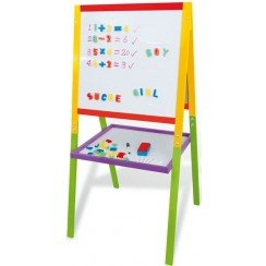 tableau double face colore en bois jeu educatif jeux et jouets. Black Bedroom Furniture Sets. Home Design Ideas
