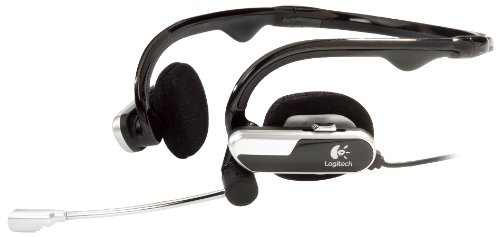 Logitech Laptop Headset H555 Portable Audio For Notebooks