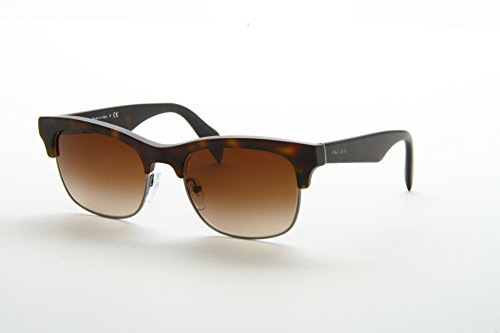 prada Prada PR11PS Sunglasses-HAQ/6S1 Matte Havana (Brown Gradient Lens)-54mm