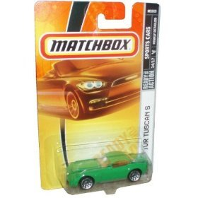 Matchbox Sports Cars TVR TUSCAN S green die-cast 1:64 scale