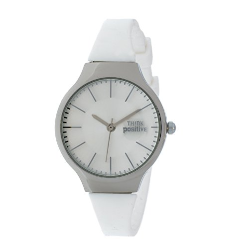 ladies-think-positiver-model-se-w31-classic-steel-strap-of-silicone-color-white