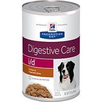 Hill's Prescription Diet i/d Digestive Care Chicken & Vegetable Stew Canned Dog Food 12/12.5 oz hill s prescription diet i d digestive care chicken