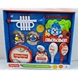 Fisher Price 10 Piece Band Set Plus Musical Monkey Piano