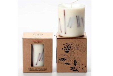 Cinnamon Soy Wax Candle from Munio Candela