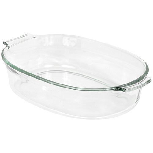 2 X Pyrex Bakeware 2-Quart Oval Roaster (Pyrex 2 Qt Oval Roaster compare prices)