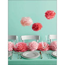 Martha Stewart Crafts Pom Poms, Medium Pink