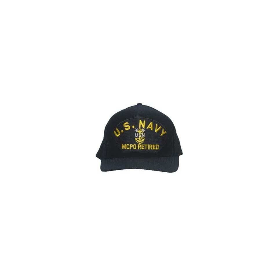 34a501626f4 NEW U.S. Navy Master Chief Petty Officer Retired Cap on PopScreen