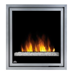 Napoleon Grills Ef30G Clean Face Electric Fireplace W/ Glass
