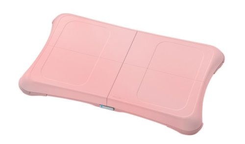 Wii Fit Balance Board Pink Silicone Sleeve front-153124