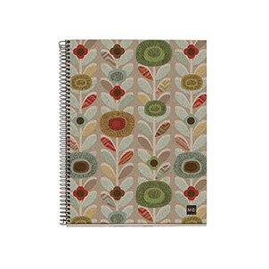 miquelrius-ecoflowers-cardboard-notebook-6-x-8-4-subject-college-ruled-120-sheets