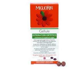 Cosval Migliorin Sanotint Integratore Alimentare per Capelli Unghie, 180 Gellule