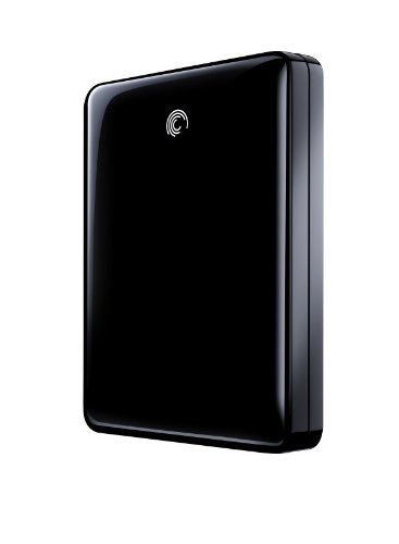Seagate FreeAgent GoFlex 1 TB USB 3.0 Ultra-Portable External Hard Drive with Paramount in Black STAA1000101