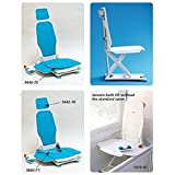 Bathmaster Sonaris Reclining Bath Lift - Sonaris Swivel Seat Cover, Blue - Model 565223