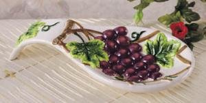 GRAPE Spoonrest spoon rest counter top kitchen decor