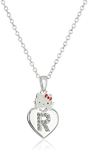 Hello-Kitty-Girls-Crystal-and-Enamel-Initial-Pendant-Necklace-18