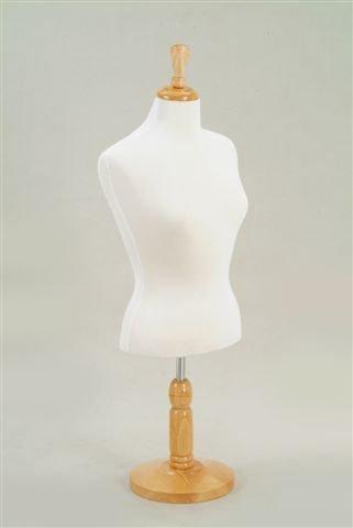 New White Female Fully Pinnable Mannequin Dress Form 38