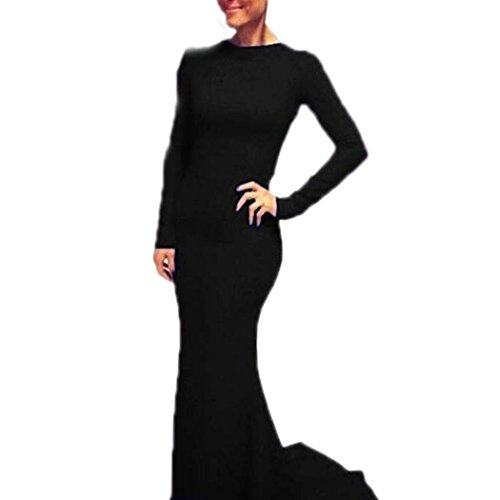 Finejo Women'S Padding Strapless Sequins Wrinkles Bowknot Mermaid Dress