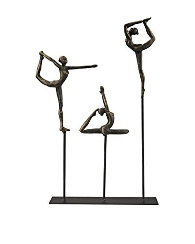 Artistic High Flyers Statue, Bronze