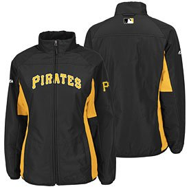 Pittsburgh Pirates Ladies Double Climate Jacket by The Pittsburgh Fan