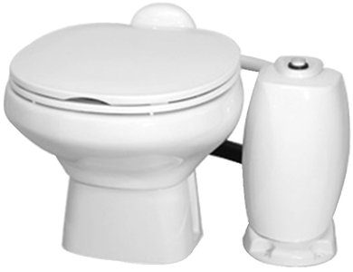 Thetford 41211 ComfortMate Electric Flush Permanent Toilet